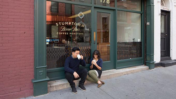 קוראים בקפה